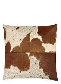Patchwork Leather Cushion Covers 10