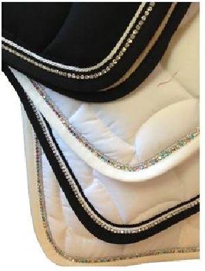 Horse Diamante Saddle Pad 04