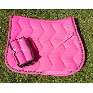 Horse Matching Saddle Pad Set 08