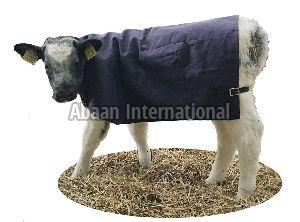 Cow and Calf Canvas Blanket 02