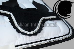 Horse Diamante Saddle Pad 02