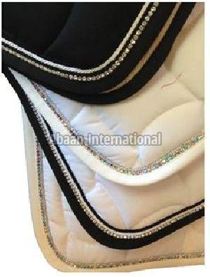 Horse Diamante Saddle Pad 04