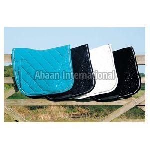 Horse Diamante Saddle Pad 07