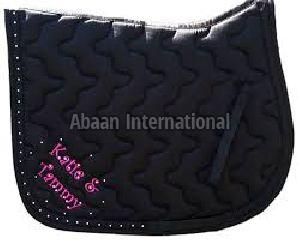 Horse Diamante Saddle Pad 09