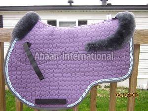 Horse Fur Lining Saddle Pad 01