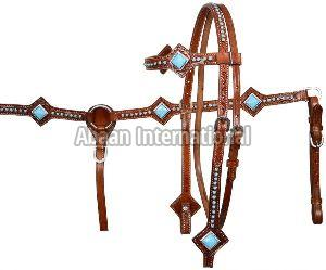 Horse Leather Bridle 05