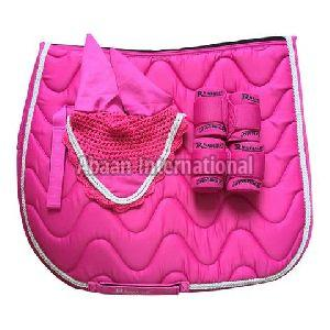 Horse Matching Saddle Pad Set 03