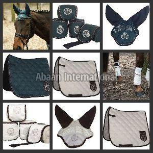 Horse Matching Saddle Pad Set 05