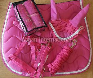 Horse Matching Saddle Pad Set 06