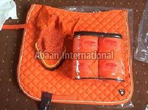 Horse Matching Saddle Pad Set 09