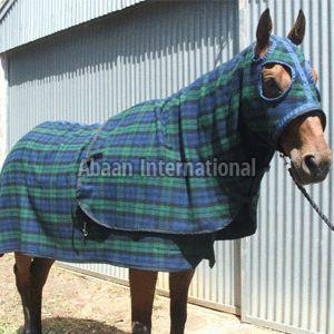 Horse Woolen Rug 02