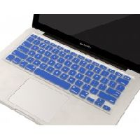 "Soft Silicone Keyboard Skin Cover For MacBook 13"" / 15"" / 17"" inch By Technotech (Blue)"