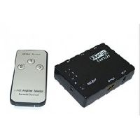 Technotech 3 Ports HDMI Switch Hub With Remote