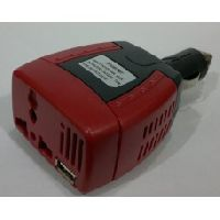 Technotech DC To AC 75W Mini Power Inverter For Car Use Laptop, Mobile Charger