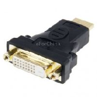 Technotech HDMI 19 Pin Male to DVI 24+1 Pin Female Adapter