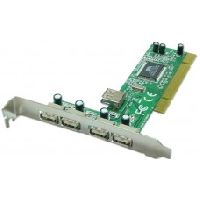 Technotech PCI 4+1 Port USB 2.0 Card