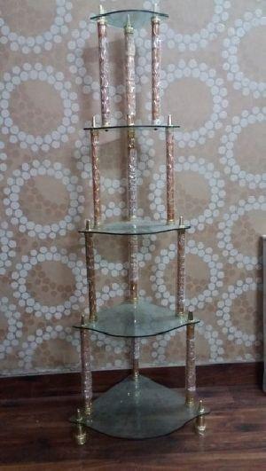 Glass Corner Stand