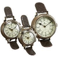 Metal Wrist Table Clock
