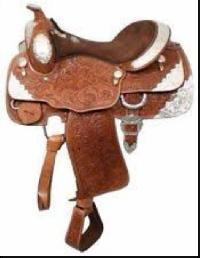 Horse Western Saddle 01