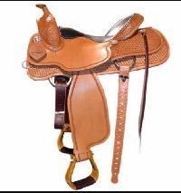 Horse Western Saddle 02