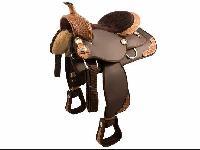 Horse Western Saddle 03