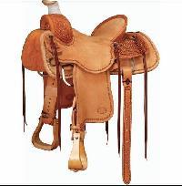 Horse Western Saddle 04