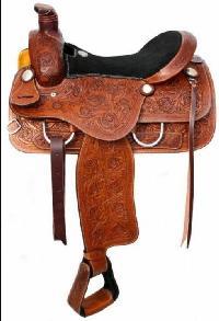 Horse Western Saddle 05
