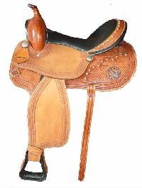 Horse Western Saddle 06