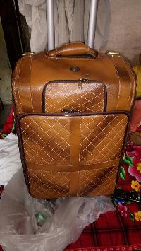 Leather Trolley Bag 01