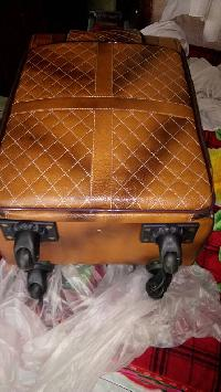 Leather Trolley Bag 03