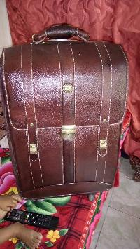 Leather Trolley Bag 05