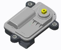 Flat-type Self Locking Intelligent Actuator