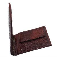 Emerging Time Leather Wallet 01