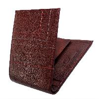 Emerging Time Leather Wallet 03