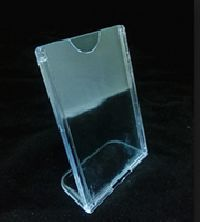 Plastic Mould Sign and Display Stand