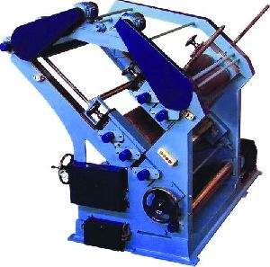 Double Profile Paper Corrugating Machine
