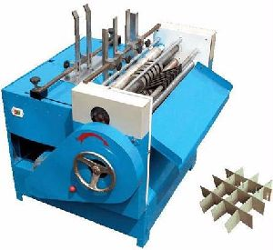 Partition Paper Slotting Machine