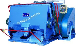 Platen Paper Punching Machine