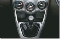 i-Shift mounted gear shift lever