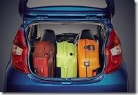 Interior Luggage space