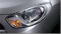 Wraparound headlamps
