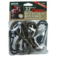 Highland 32in Camouflage Bungee Cord 2pc