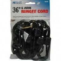 Highland 36 inch 6-Arm Bungee Hooks Cord