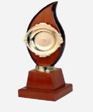 Wooden Education Trophy
