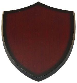 Wooden Shield Plaque