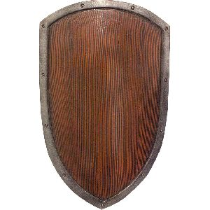 Wooden Wall Shield