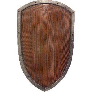 Wooden Wall Shield