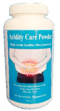 Hawaiian herbal acidity powder