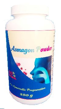 Hawaiian herbal asmagon powder
