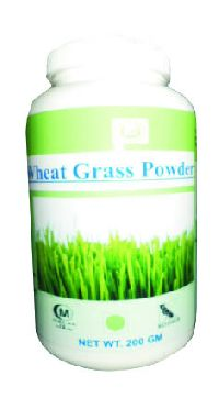 Hawaiian herbal wheat grass powder